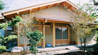 本格和風テイストの平屋の家