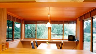 窓から緑を眺めて暮らせる家