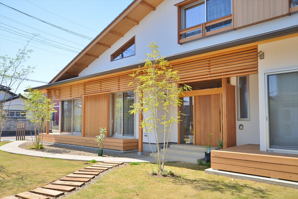 在来工法の木造住宅